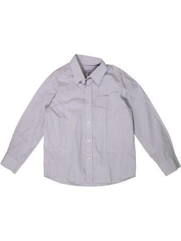 Camisa de manga larga niño CYRILLUS violeta 6 años invierno #1362279_1