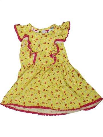 Robe fille MINI CLUB jaune 2 ans été #1362398_1