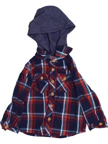 Chemise manches longues garçon BABY bleu 12 mois hiver #1362563_1