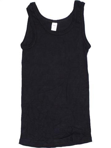 T-shirt sans manches fille YIGGA bleu foncé 14 ans été #1362647_1