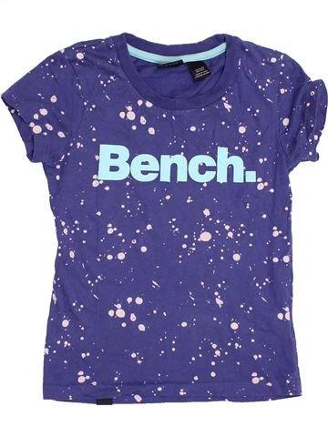 T-shirt manches courtes garçon BENCH bleu 8 ans été #1363026_1