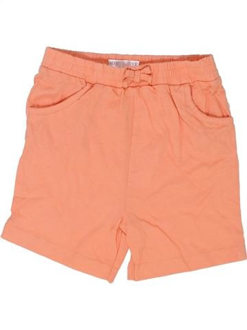 Short - Bermuda fille M&CO orange 3 ans été #1363126_1