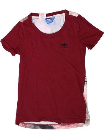 Camiseta de manga corta niña ADIDAS rojo 8 años verano #1363267_1