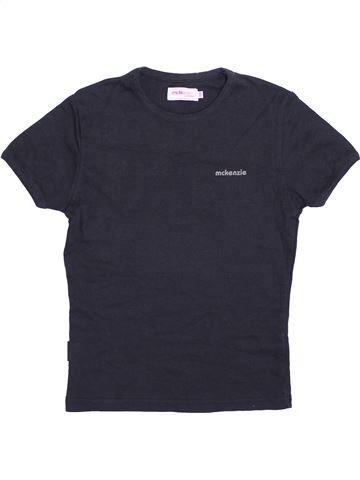 T-shirt manches courtes unisexe MCKENZIE bleu 10 ans été #1363471_1