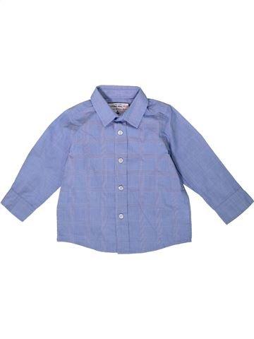 Chemise manches longues garçon MONSOON bleu 18 mois hiver #1363511_1