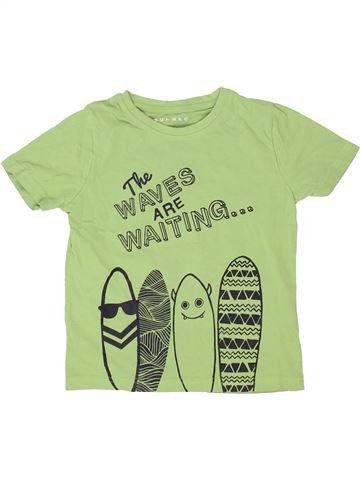 T-shirt manches courtes garçon NUTMEG vert 5 ans été #1363534_1