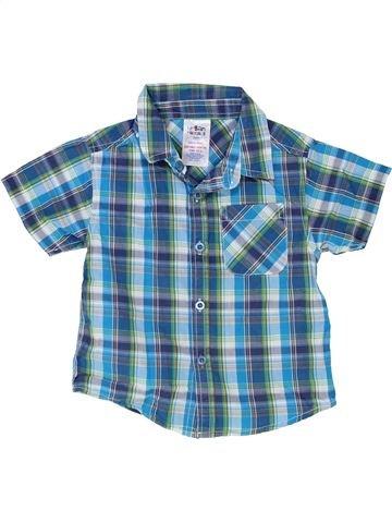 Chemise manches courtes garçon URBAN RASCALS bleu 2 ans été #1363667_1