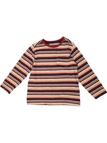 T-shirt manches longues garçon NUTMEG rose 6 ans hiver #1363920_1