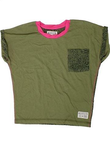 T-shirt manches courtes fille CONVERSE vert 10 ans été #1364270_1