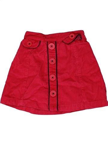 Falda niña MATALAN rojo 2 años invierno #1364335_1