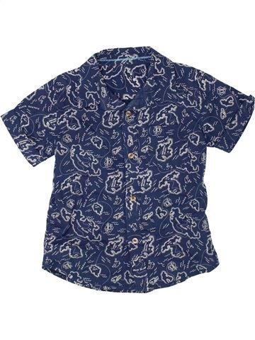 Camisa de manga corta niño MOTHERCARE azul 3 años verano #1364553_1