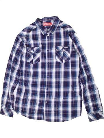 Chemise manches longues garçon DIESEL violet 15 ans hiver #1364860_1