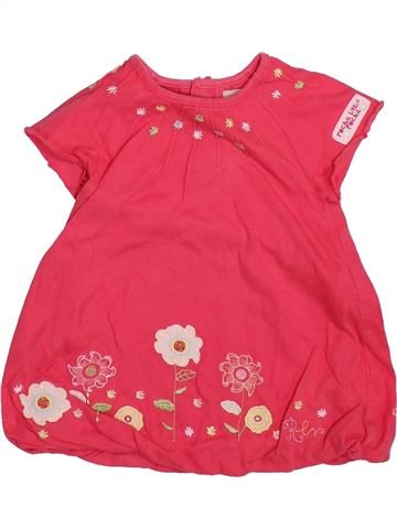 Robe fille ROCHA LITTLE ROCHA rouge 9 mois été #1365048_1