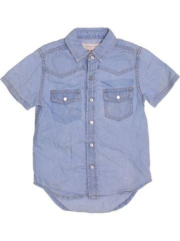 Chemise manches courtes garçon RIVER ISLAND bleu 3 ans été #1365092_1