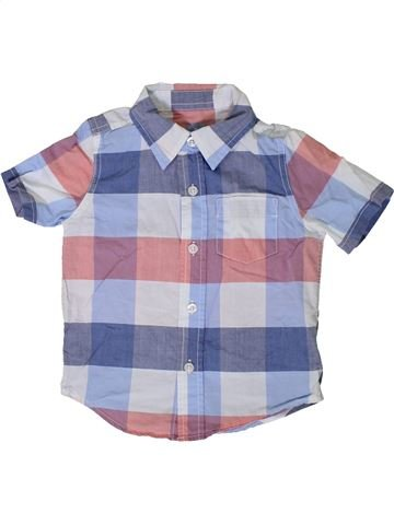 Camisa de manga corta niño GAP violeta 2 años verano #1365379_1