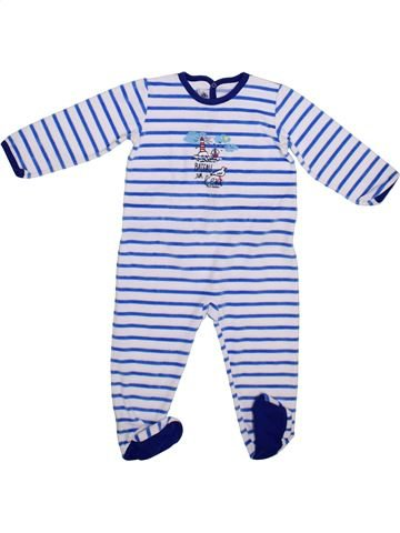Pijama de 1 pieza niño PETIT BATEAU azul 2 años invierno #1365477_1