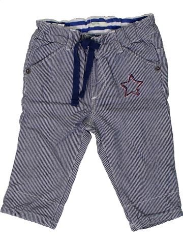 Pantalon garçon BENETTON bleu 6 mois été #1365692_1