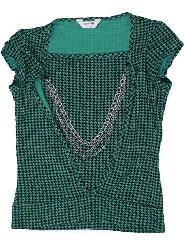 T-shirt manches courtes fille TAMMY vert 11 ans été #1365806_1