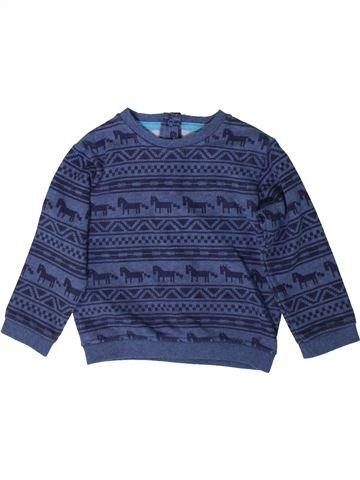 Sweat garçon MARKS & SPENCER bleu 2 ans hiver #1365939_1