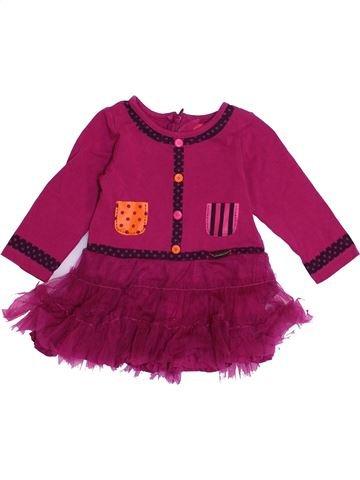 Robe fille MARÈSE violet 6 mois hiver #1365952_1
