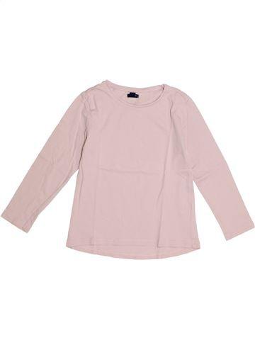T-shirt manches longues fille KIABI rose 5 ans hiver #1366269_1