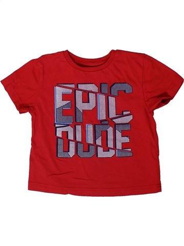 T-shirt manches courtes garçon PRIMARK rouge 3 ans été #1366640_1