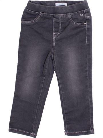 Pantalon fille OKAIDI gris 2 ans hiver #1366744_1