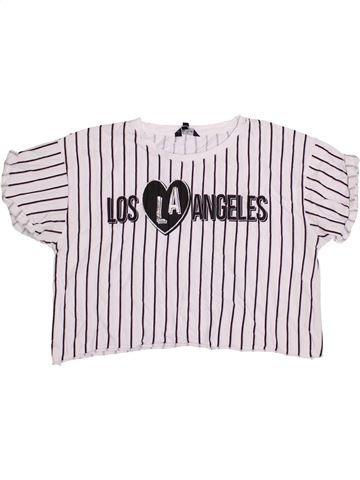 Camiseta de manga corta niña CANDY COUTURE blanco 16 años verano #1366852_1