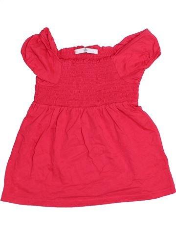 T-shirt manches courtes fille MARKS & SPENCER rouge 5 ans été #1366904_1