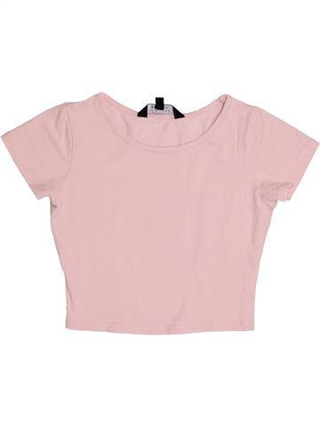 T-shirt manches courtes fille NEW LOOK violet 11 ans été #1367049_1