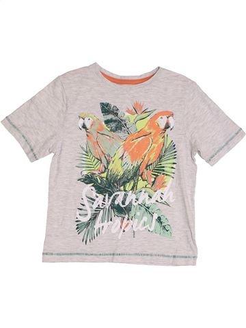 T-shirt manches courtes garçon TU blanc 3 ans été #1367051_1