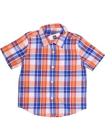 Camisa de manga corta niño GAP rosa 3 años verano #1367069_1