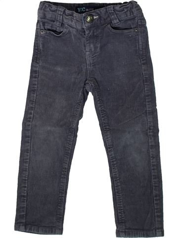 Pantalon garçon YCC-214 gris 3 ans hiver #1367086_1