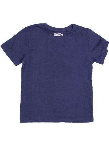 T-shirt manches courtes garçon KIDS bleu 7 ans été #1367115_1