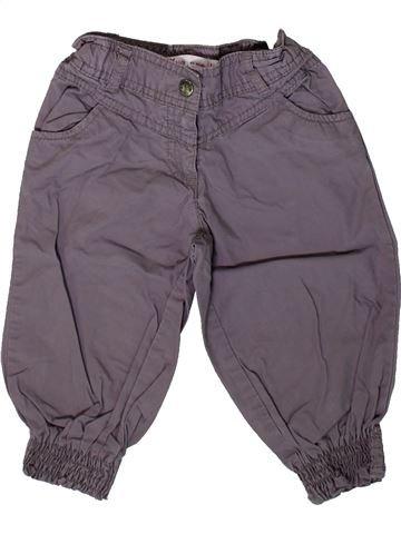 Pantalón niña GEMO gris 3 años verano #1367316_1
