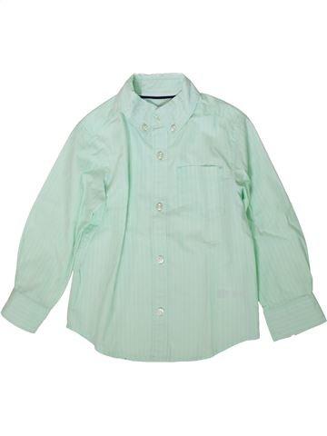 Chemise manches longues garçon CARTER'S vert 3 ans hiver #1367384_1