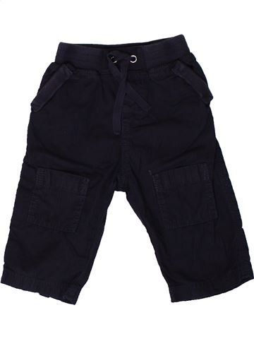 Pantalon garçon PETIT BATEAU noir 6 mois été #1367556_1