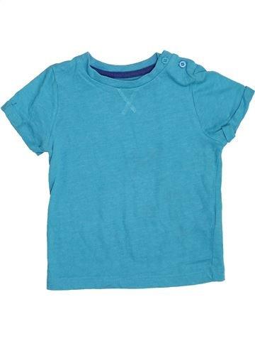 T-shirt manches courtes garçon F&F bleu 2 ans été #1367663_1