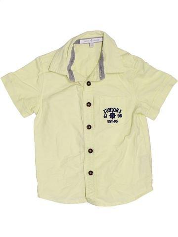 Camisa de manga corta niño JASPER CONRAN beige 2 años verano #1367685_1