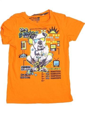 T-shirt manches courtes garçon C&A orange 12 ans été #1367700_1