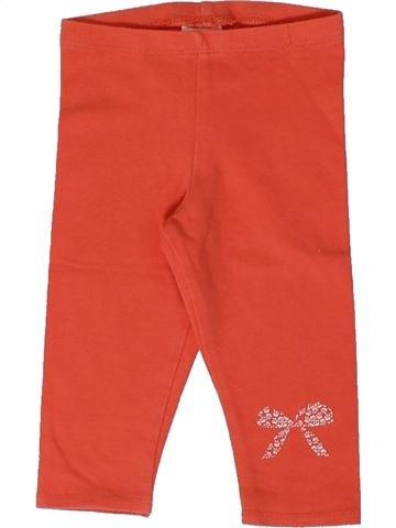 Legging niña P'TIT BISOU rojo 6 meses verano #1367742_1
