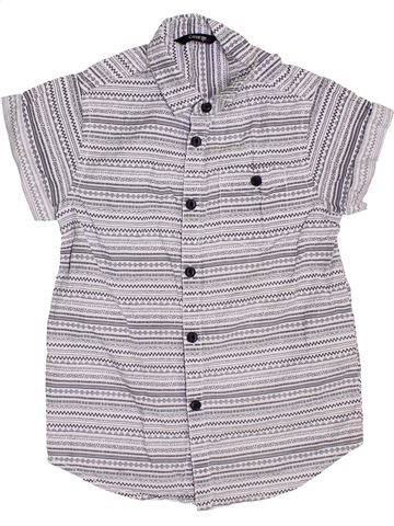 Camisa de manga corta niño GEORGE gris 5 años verano #1367752_1
