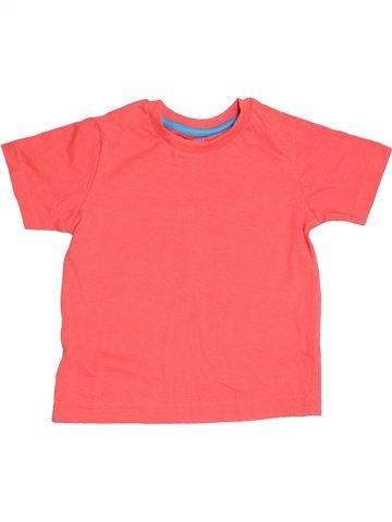 T-shirt manches courtes garçon TRUE DUDES rose 3 ans été #1368016_1