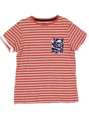 T-shirt manches courtes garçon TU rose 12 ans été #1368053_1