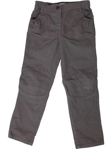 Pantalon fille VERTBAUDET gris 5 ans hiver #1368097_1