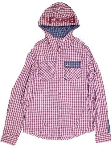Chemise manches longues garçon BENCH rose 16 ans hiver #1368136_1