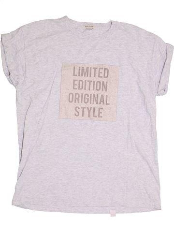 T-shirt manches courtes garçon RIVER ISLAND blanc 12 ans été #1368161_1