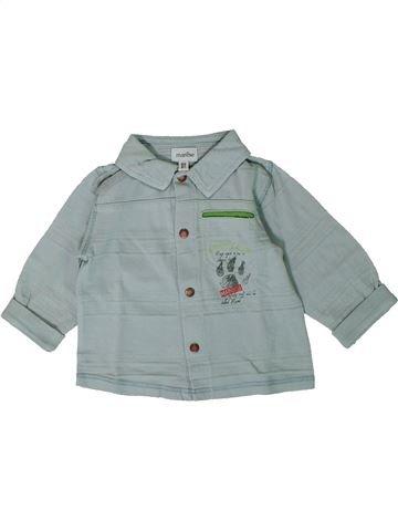 Chemise manches longues garçon MARÈSE gris 6 mois hiver #1368225_1