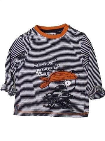 T-shirt manches longues garçon LA COMPAGNIE DES PETITS gris 2 ans hiver #1368555_1