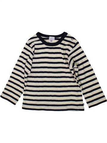 T-shirt manches longues garçon COUDÉMAIL noir 2 ans hiver #1368596_1
